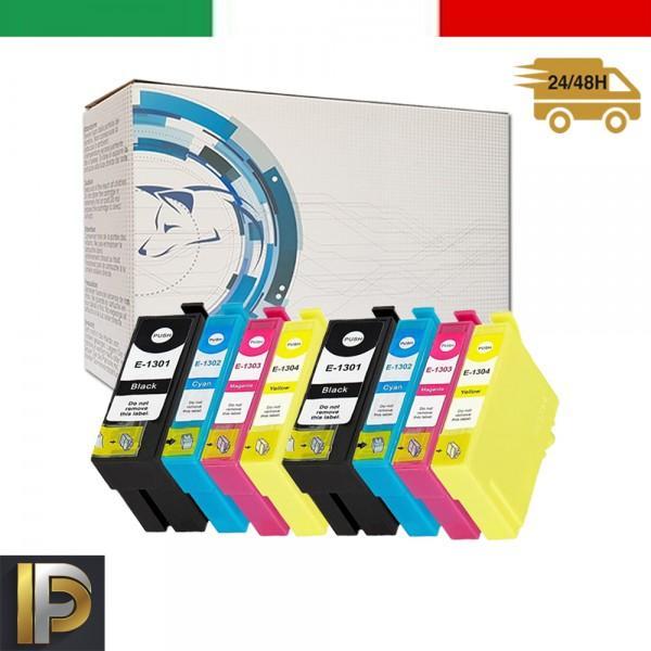 8 Cartuccia Epson  T1305   Compatibili