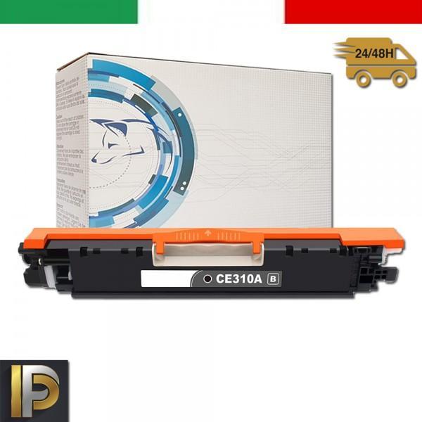Toner Hp Laserjet  CE310A  Nero Compatibile