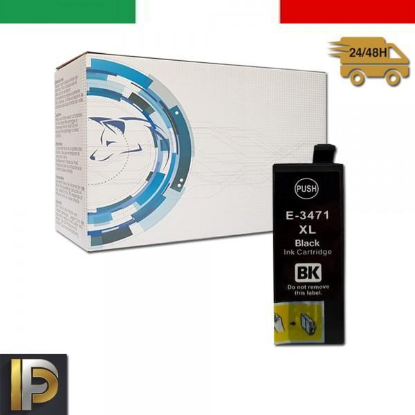 Cartuccia Epson  T3471 Nero Compatibile
