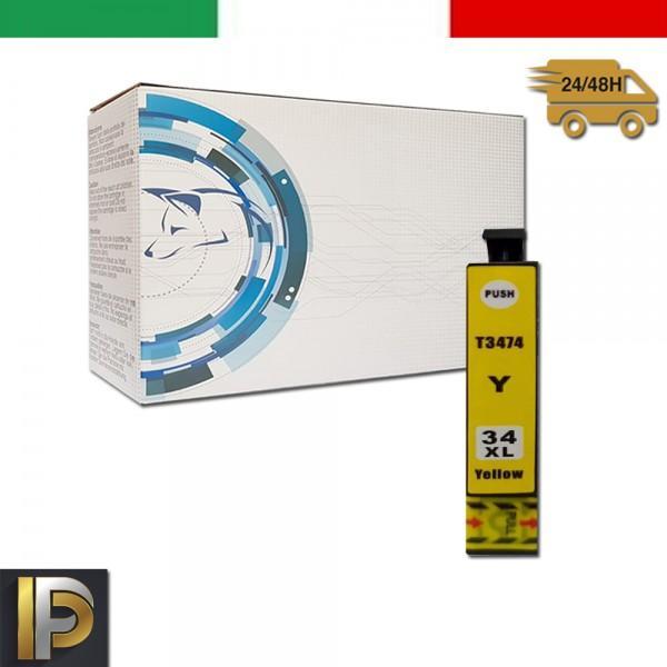 Cartuccia Epson  T3474 Nero Compatibile
