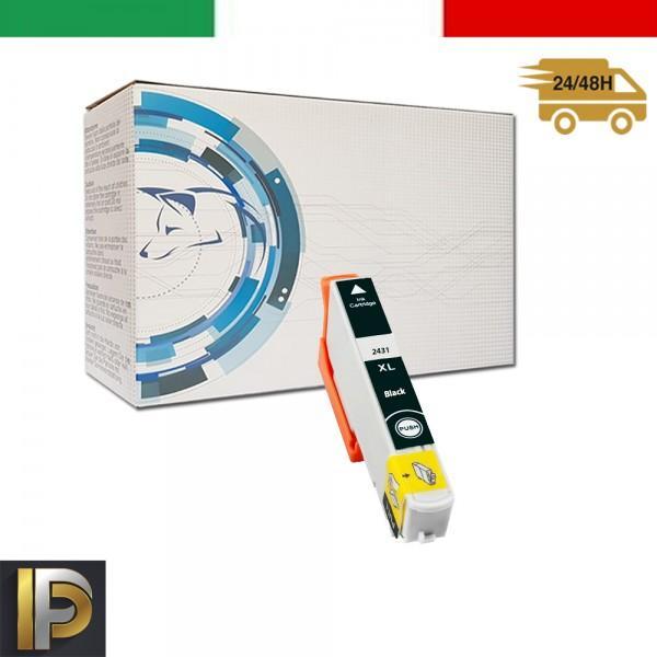 Cartuccia Epson  T2431-BK Nero Compatibile
