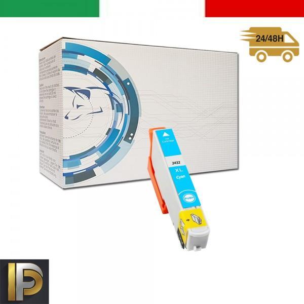 Cartuccia Epson  T2432-C Ciano Compatibile