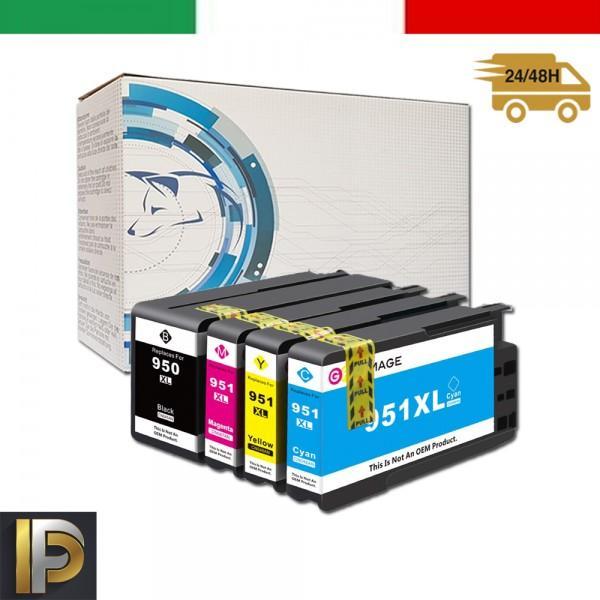 4 Cartucce HP  HP-950XL   Compatibili
