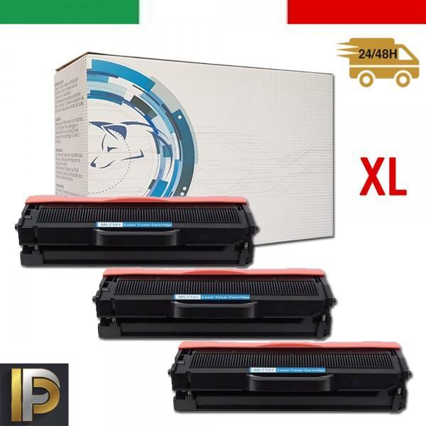 3 Toner Samsung  MLT-D101XL   Compatibili