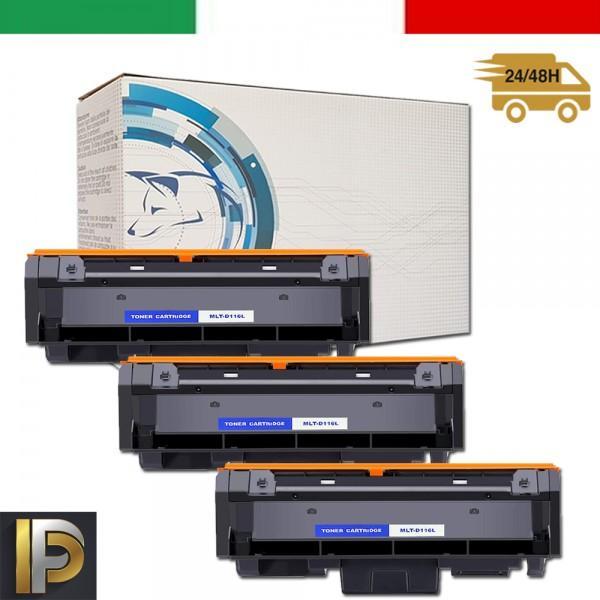 3 Toner Samsung  MLT-D116L   Compatibili