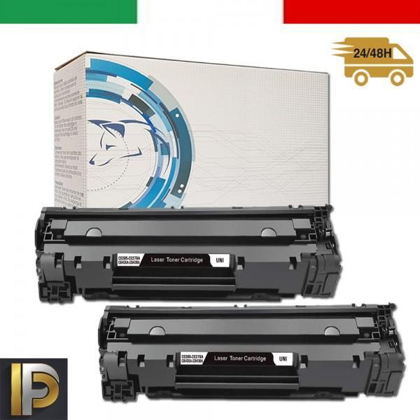 2 Toner Hp Laserjet  CB436A   Compatibili