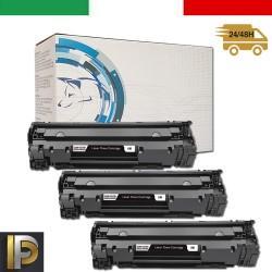 3 Toner Hp Laserjet  CE285A   Compatibili