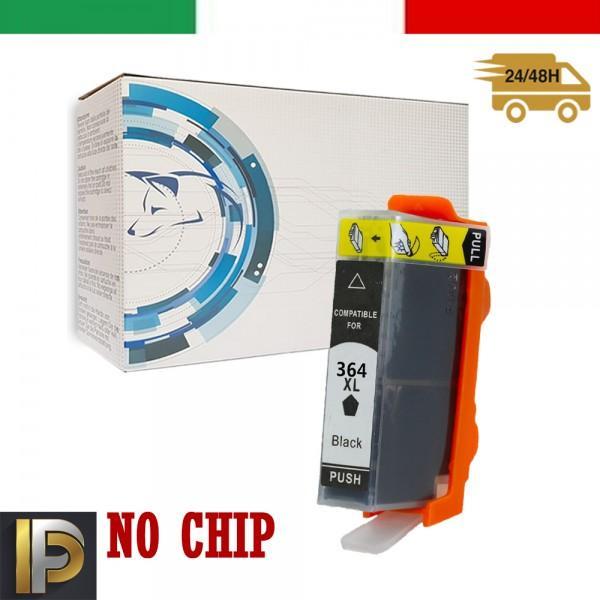 Cartucce HP Photosmart  364XL-BK  No CHIP Compatibile