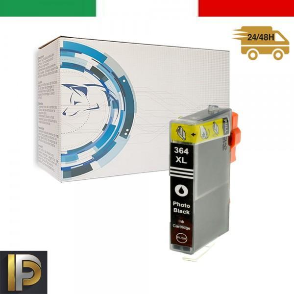 Cartucce HP  364-BK-FOTO  con CHIP Compatibile