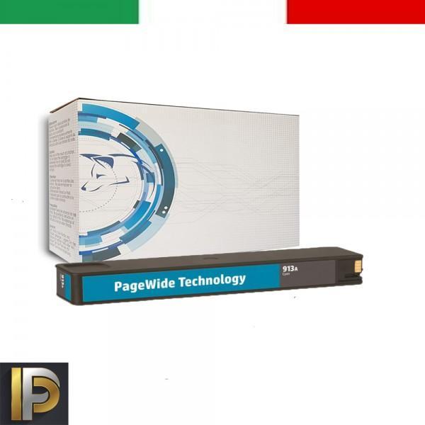 Cartuccia HP Pagewade   913AXL-C  Compatibile