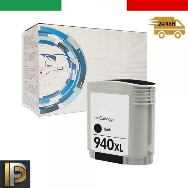 Cartucce HP HP Officejet Pro 940XL-BK con CHIP Compatibile