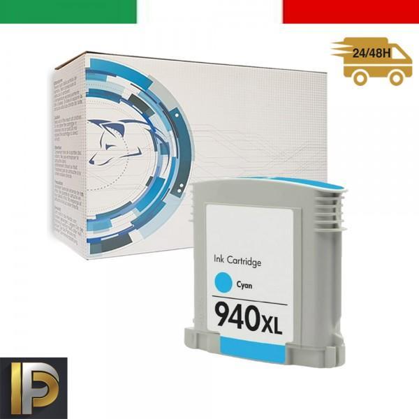 Cartucce HP HP Officejet Pro 940XL-C Ciano con CHIP Compatibile