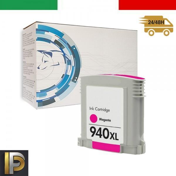 Cartucce HP HP Officejet Pro 940XL-M Magenta con CHIP Compatibile