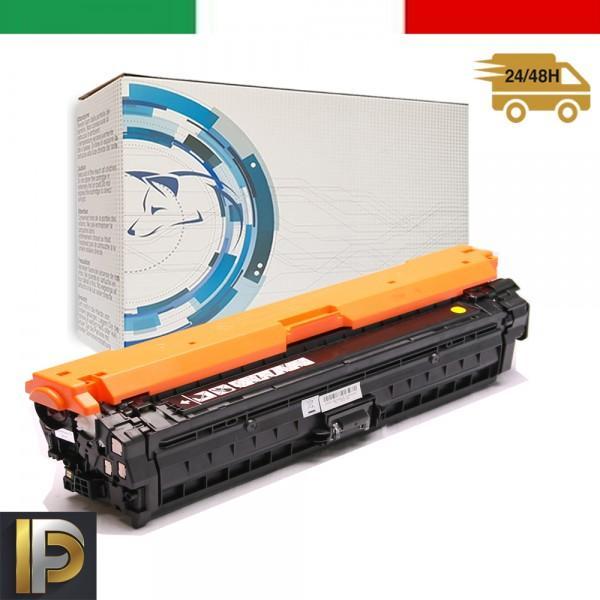Toner Hp Laserjet  CE742A-Y Giallo Compatibile