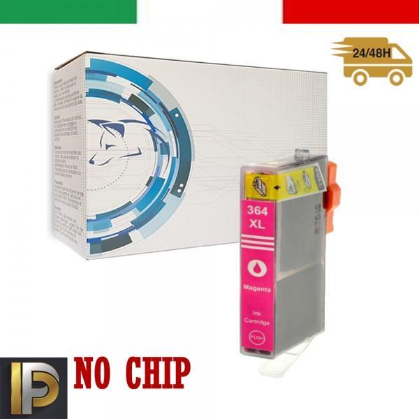 Cartucce HP Photosmart  364-M  Magenta  No CHIP Compatibile