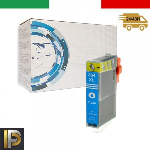 Cartucce HP  364-C  Ciano con CHIP Compatibile