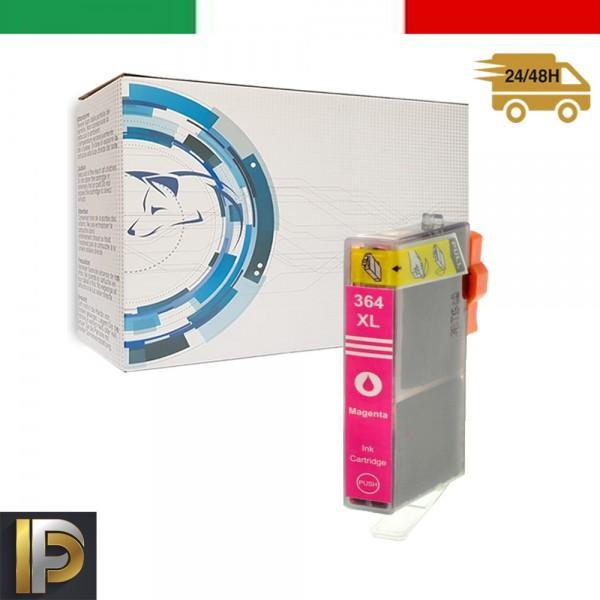 Cartucce HP  364-M  Magenta con CHIP Compatibile