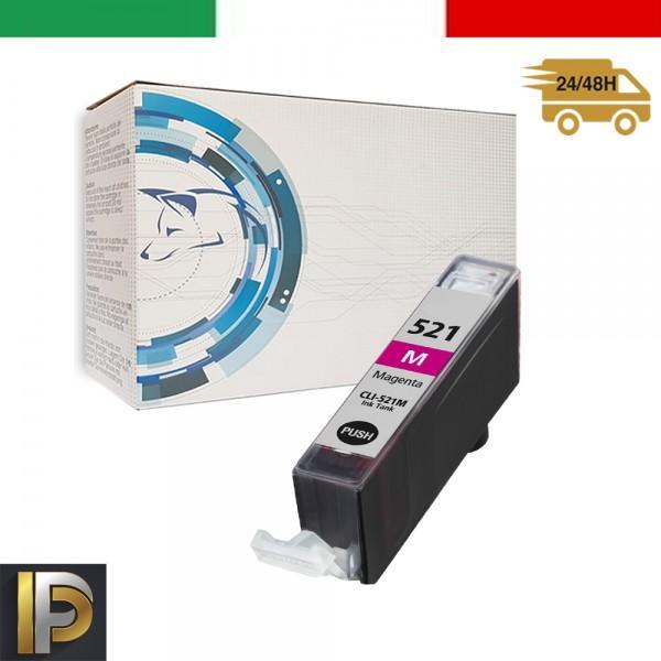 Cartucce Canon Pixma  CLI-521-M Magenta Compatibile