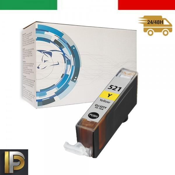 Cartucce Canon Pixma  CLI-521-Y Giallo Compatibile
