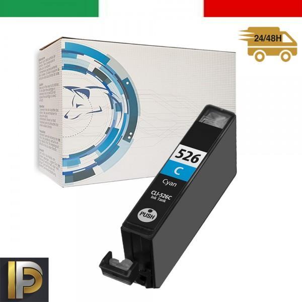Cartucce Canon Pixma  CLI-526-C Ciano con CHIP Compatibile