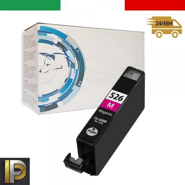 Cartucce Canon Pixma  CLI-526-M Magenta  con CHIP  Compatibile