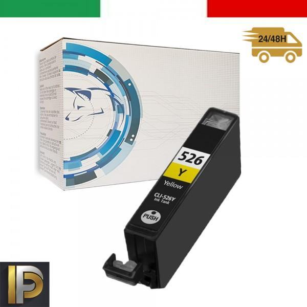 Cartucce Canon Pixma  CLI-526-Y Giallo  con CHIP  Compatibile