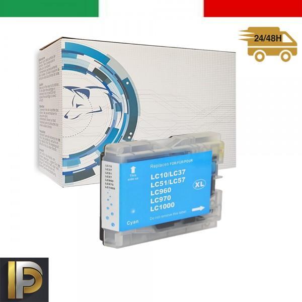 Cartuccia Brother  LC-1000-C Ciano Compatibile