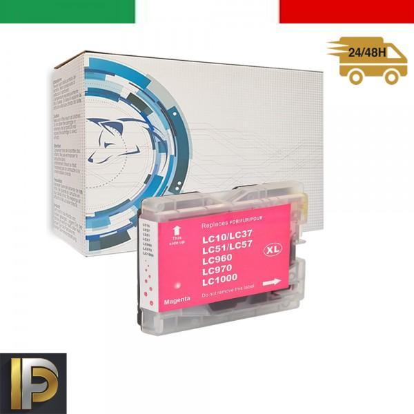 Cartuccia Brother  LC-1000-M Magenta Compatibile