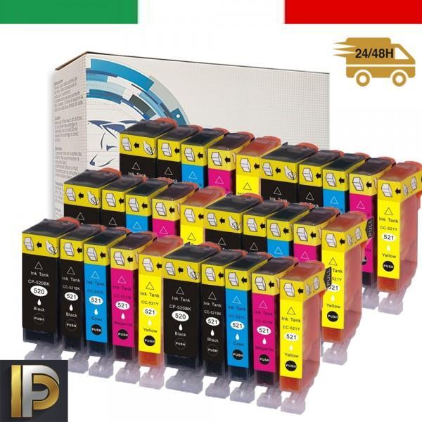 30 Cartucce Canon  PGI-520   Compatibile