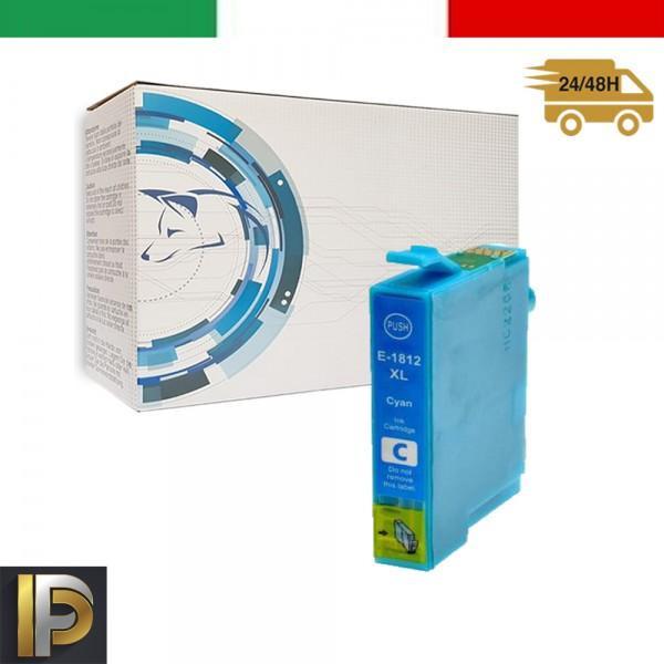 Cartuccia Epson  T18-CIANO Ciano Compatibile