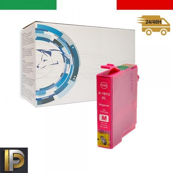 Cartuccia Epson  T18-MAGENTA Magenta Compatibile