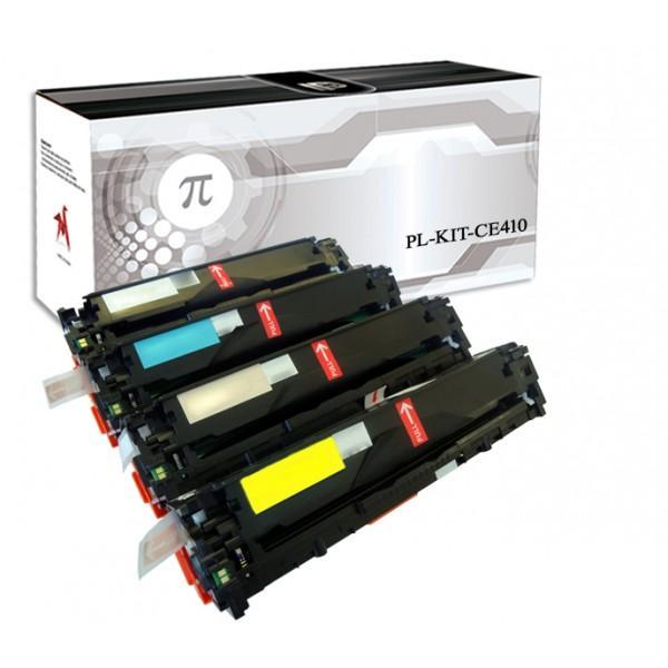 4 Toner Hp Laserjet Enterpise CE410X-3A   Compatibili