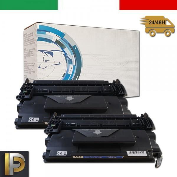 2 Toner HP  Laserjet PRO CF226X 26X Nero Compatibile