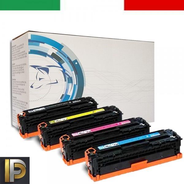4 Toner Hp Laserjet Color CB540A   Compatibili